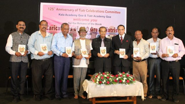 """""""Caricatures of 100 Great Tiatrists"""" Book Release"""