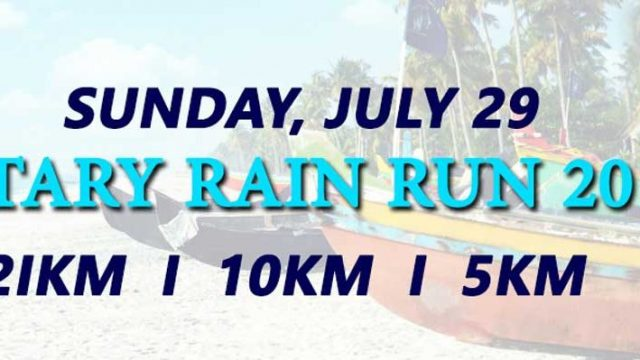 Rotary Rain Run on July 29