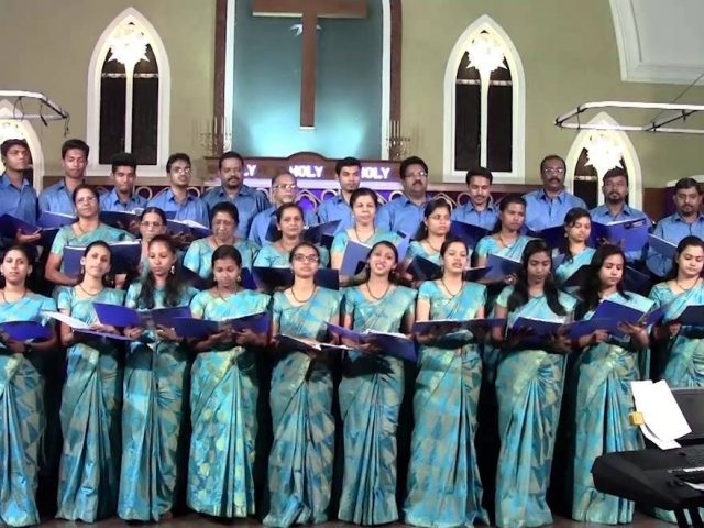 Choir singing competition