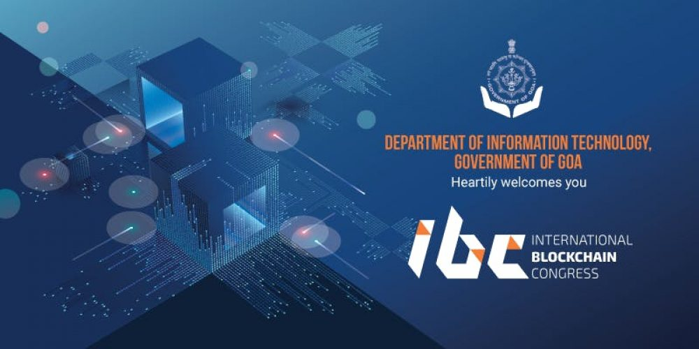 IT Dept. of Goa to hold International Blockchain Congress (IBC)  on August 5