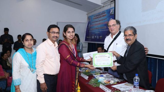 Mandira Faldesai awarded IGS gold medal for topping ME exam