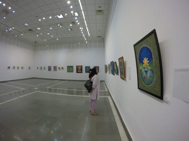 Art exhibition- Shades, colours, and life