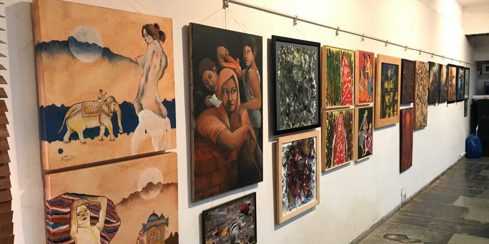 Mega Art Show at Kala Academy