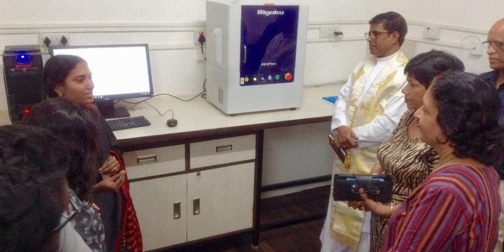 St. Xavier's college Mapusa inaugurates research instrumentation center