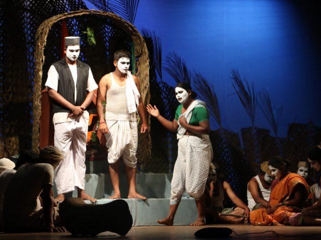 'Aajyachi Kaani' wins the first prize in Konkani drama competition