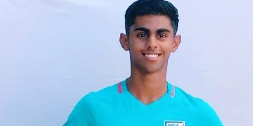 Ribhav gets call-up for India U-19 football team