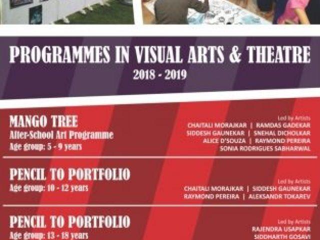 Visual Arts and Theatre at Sunaparanta