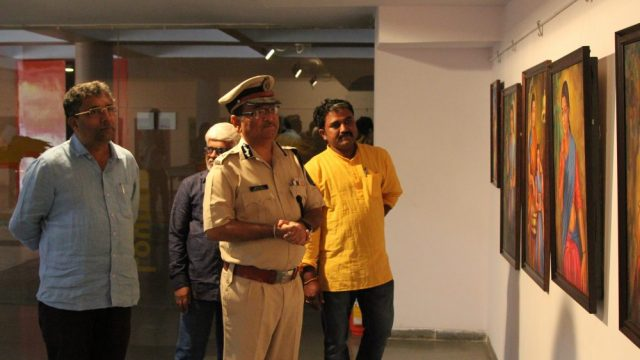 Group art exhibition- Vision 2019 – inaugurated at Kala Academy