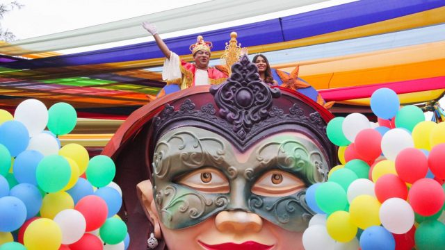 Carnival float parades from March 2 onward