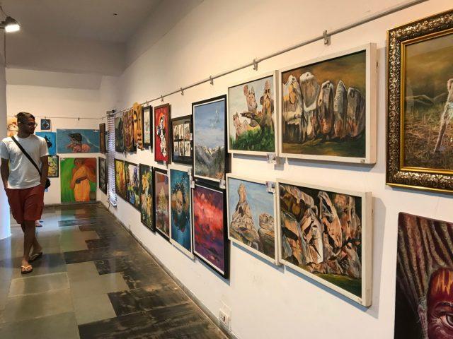 Splash of colours- Goa Expo at Kala Academy