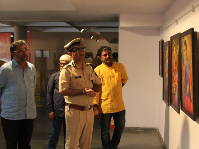 Group art exhibition- Vision 2019 – inaugurated at Kala Academy