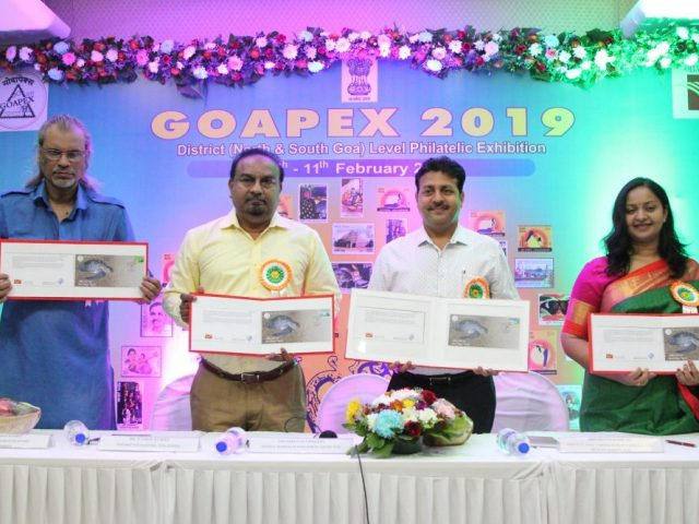 Special cover on 'Olive Ridley Turtles' released at GOAPEX 2019