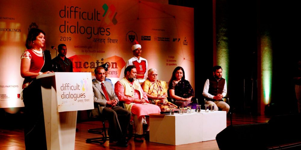 Difficult Dialogues 2019- Tackling issues of education in India