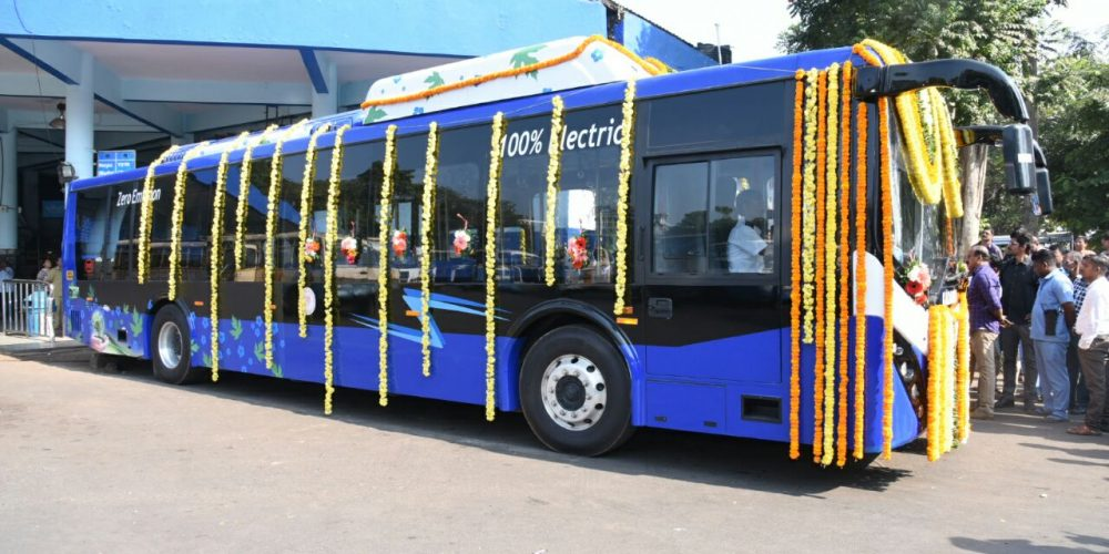 Goa gets '100% Electric Bus'