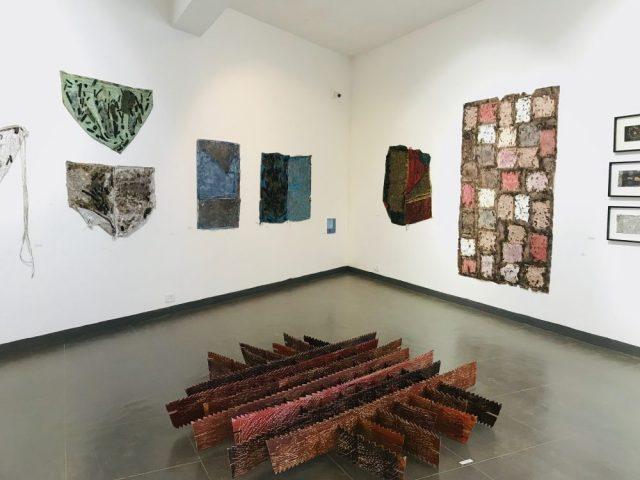 Phoenix Art Exhibition- Colours, textures, and dimensions