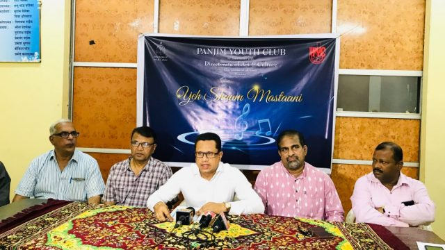 'Yeh Shaam Mastaani'- Panjim Youth Club's upcoming musical programme