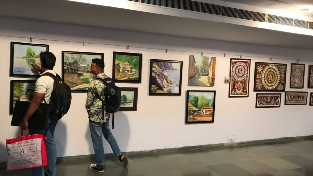 Artists from India display their talent at Panaji