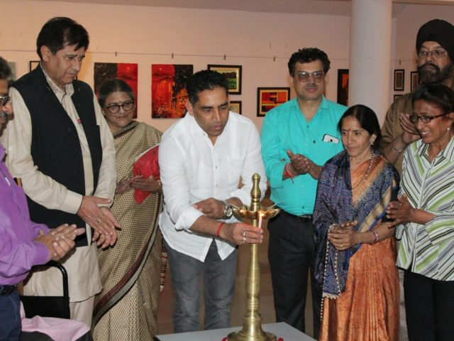 Artists from different states come to Goa to show their works