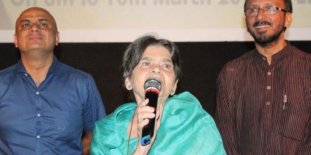 Sai Paranjpye retrospective at ESG