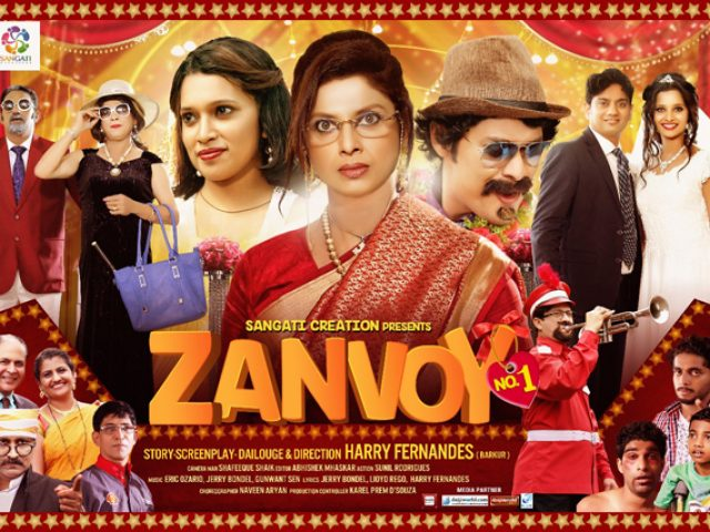 Varsha Usgaonkar starer- 'Zanvoy No.1' to be premiered on May 9 at Maquinez Palace