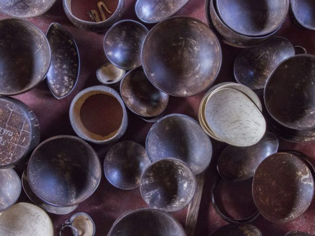 Coconut Shell Craft – Yes, coconut is not only for eating!