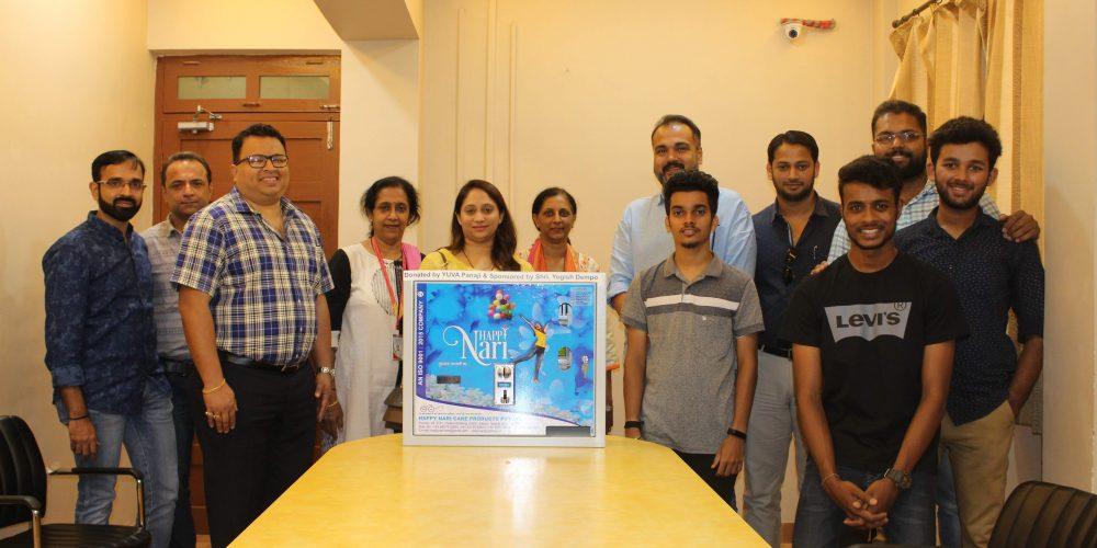 Creating awareness on menstrual hygiene