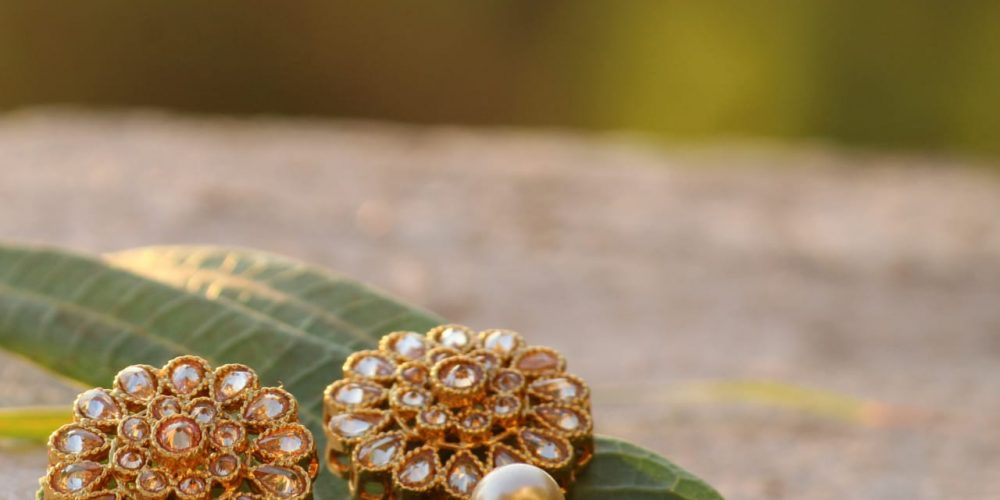 Affordable wedding earrings collection launched by Puja Mapxencar