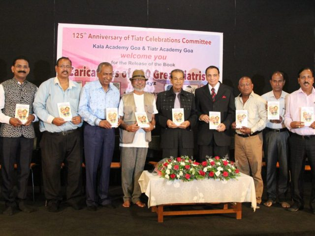 """Caricatures of 100 Great Tiatrists"" Book Release"