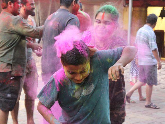 Gulalotsav- marks the beginning of Shigmotsav festivities in Panaji