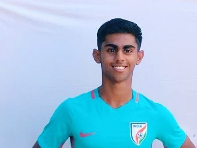 Ribhav gets call-up for India U-19 football team