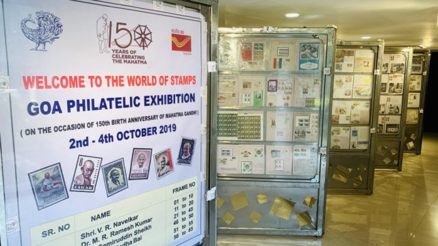 Goa Philatelic Exhibition serves a humble homage to Mahatma Gandhi