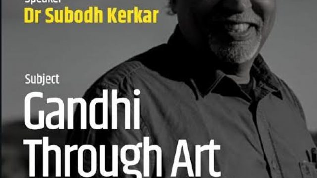 Gandhi Through Art