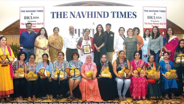 Goan women and cuisine excel at the Goan Woman Chef of the Year 2019