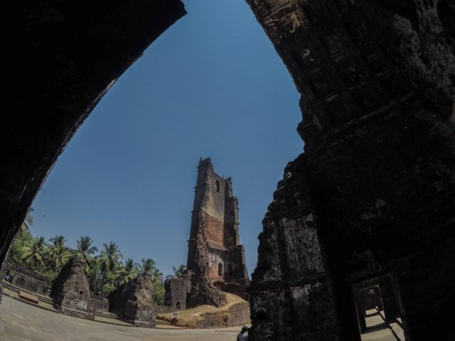 Historical walk for children at Old Goa