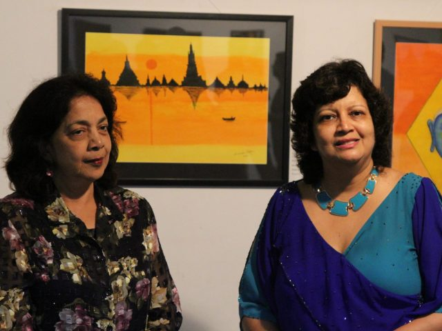Beyond Borders exhibition at Kala Academy