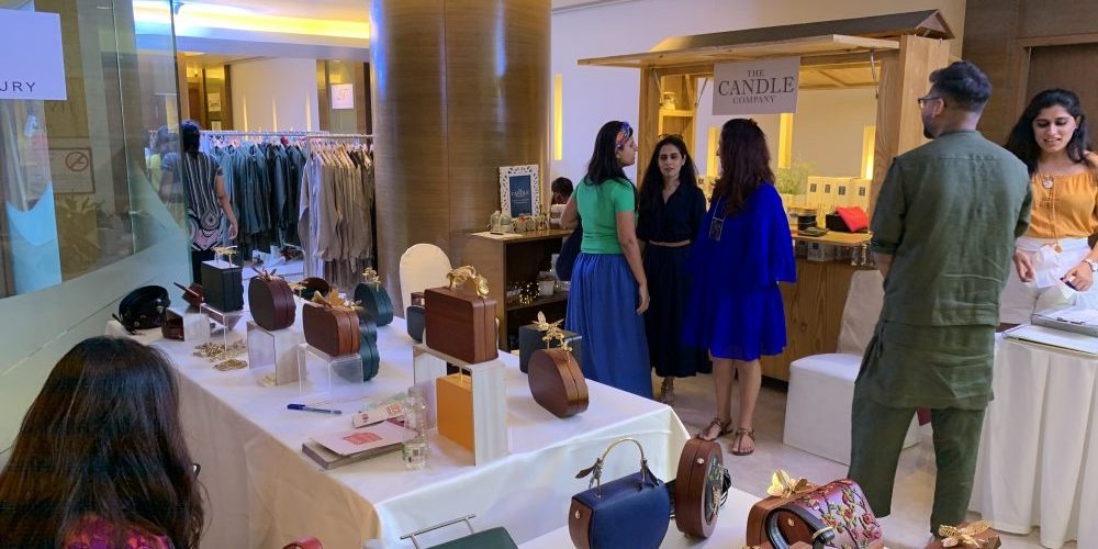 A designer pop-up cum exhibition held at Taj Vivanta