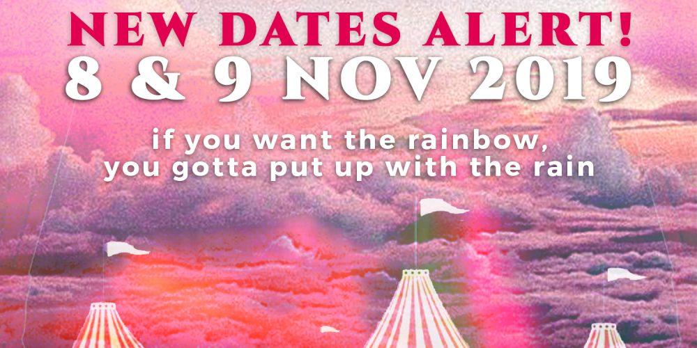 LaLaLand Festival postponed to 8-9 Nov 2019