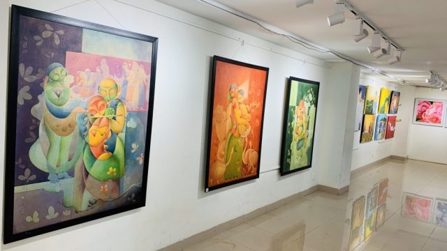 Indian artists display their works at Spandan – Annual Global Art Festival of India