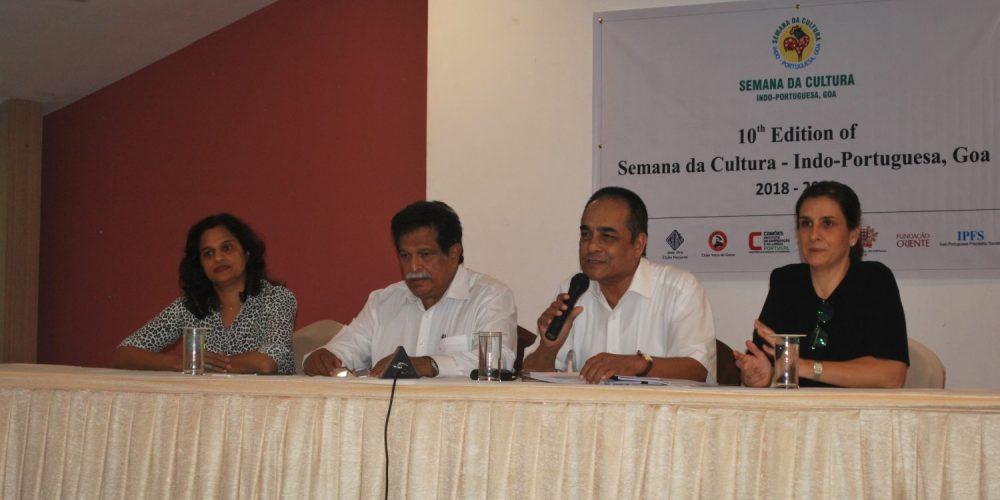 Festive celebrations to mark 'Decennary' of Semana da Cultura Indo –Portuguesa