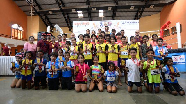 Prayag Jaiswal of Mumbai and Jal Naik of Margao emerge winners in 12-15 years age category at Trikids 2019