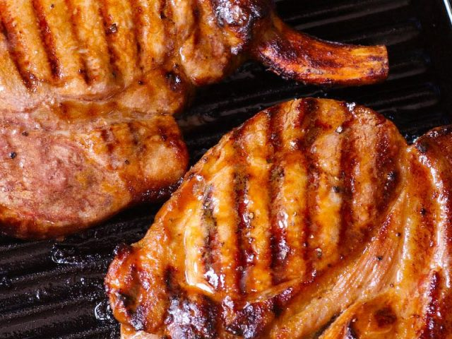 From Grandma's Kitchen: Grilled Pork Chops