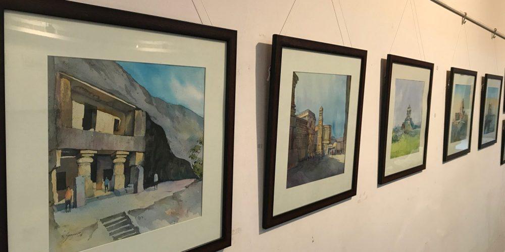 Kiran Sherkhane brings his art to Goa