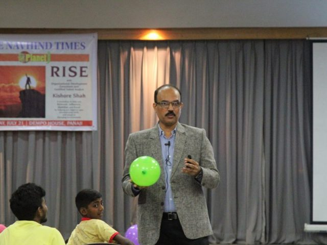 Learning to RISE with Navhind Times