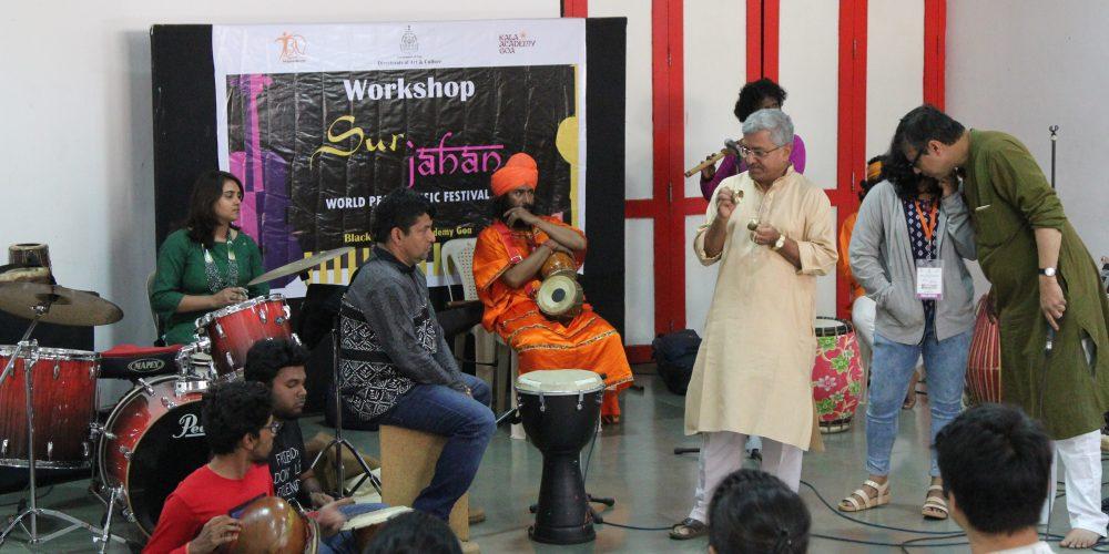 Folk music workshop