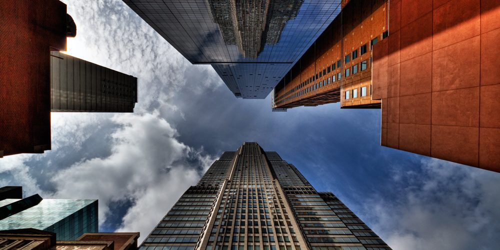 Sky and Skyscrapers of NYC