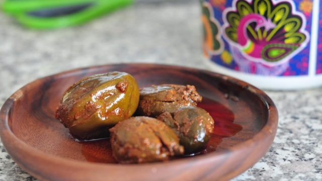 From Grandma's Kitchen: Stuffed Mango Pickle
