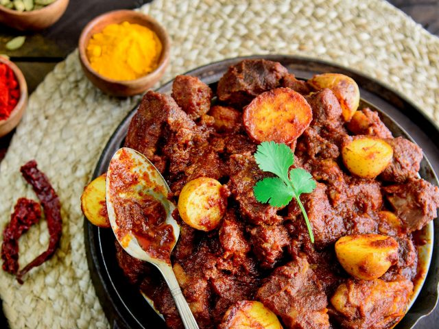 From Grandma's Kitchen: Pork Vindaloo