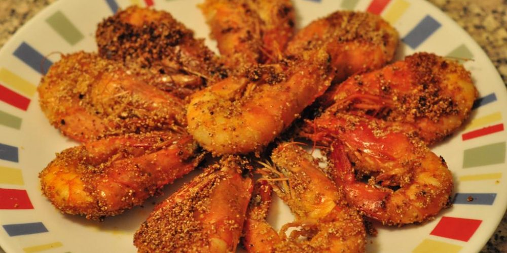 From Grandma's Kitchen: Rava Fried Prawns