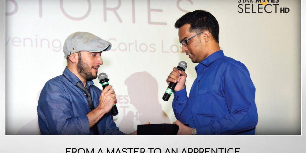 Goan student wins script award