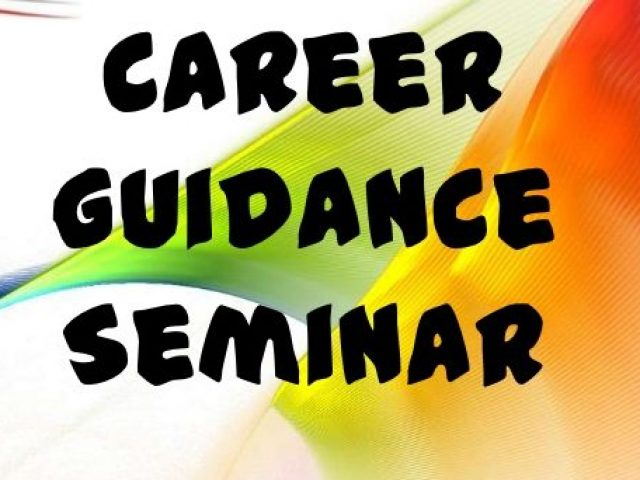 Career guidance seminar on April 25 and April 27
